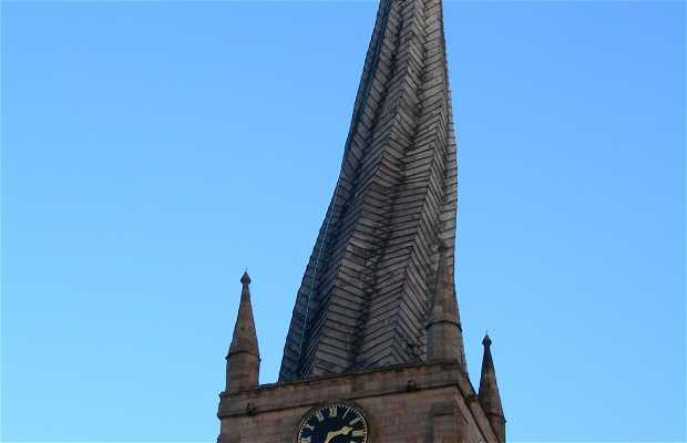 The Crooked Spire Church (Eglise Sainte Marie)
