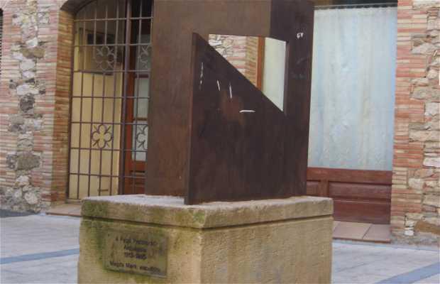 Sculpture à Pratmarsó