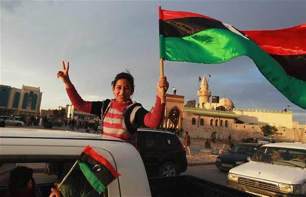 Las calles de Trípoli