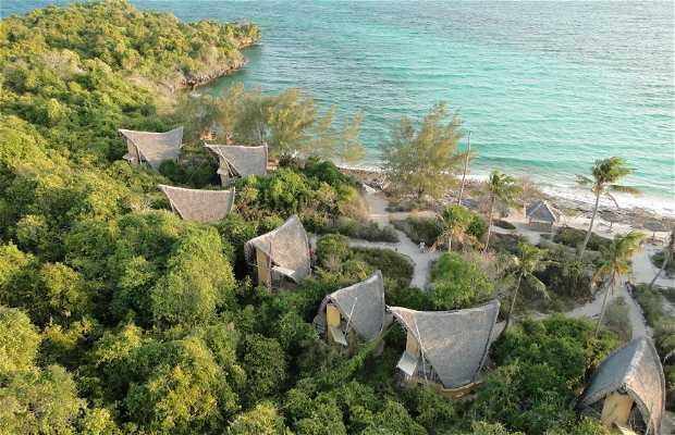 L'île du Parc de Tanzanie de Corail