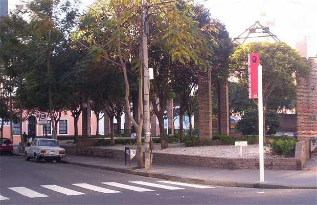 Plaza de la Cooperación a Rosario