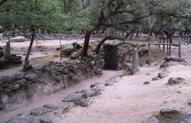Pueblo arqueológico de Romanzesu