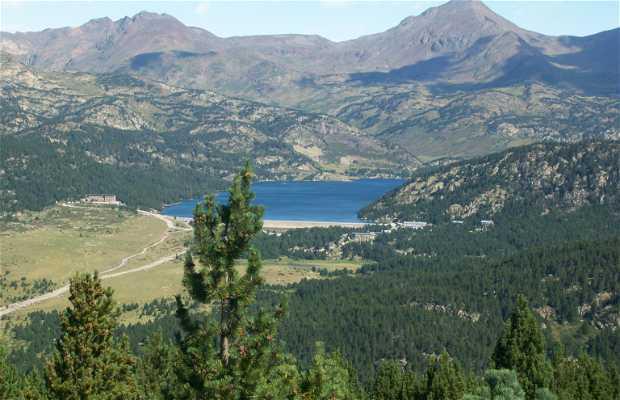 El lago de Bouillouses