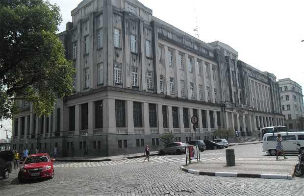 Edifício da Alfândega em Santos