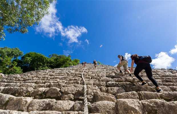 La Pyramide de Nohoch Mul