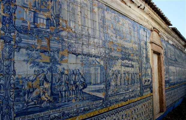Mural de azulejos Senhor Roubado