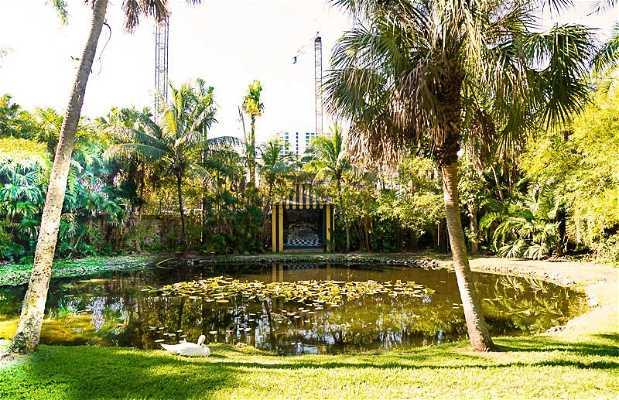 Bonnet House's Pavilion & Fountain