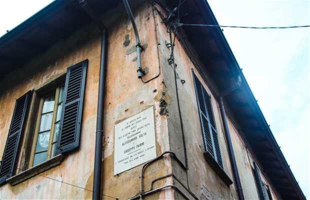 La casa de Alessandro Volta