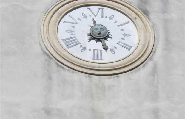 Orologio Italico della chiesa di San Silvestro