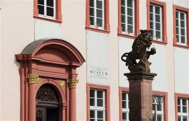 La antigua universidad de Heidelberg