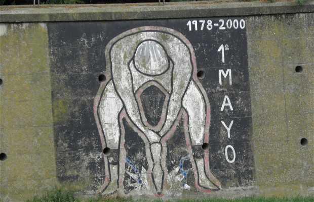 Mural del 1 de Mayo
