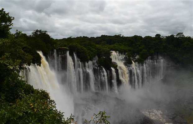 Cataratas de Kalandula (Braganza), Malanje, Angola