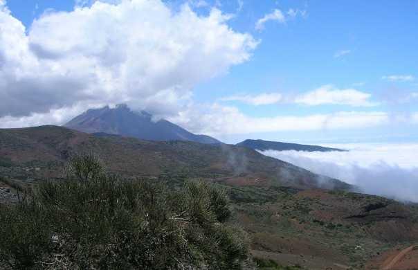 Top of Mount Teide