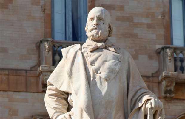 Estatua de Garibaldi
