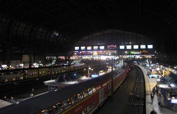 Gare d'Hambourg : Haupbahnhof