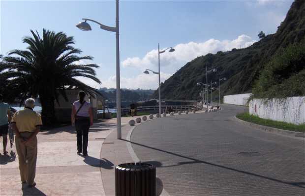 Promenade maritime à Candas