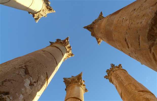 Templo de Artemisa Jerash