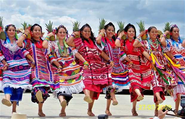 Regional costumes of Oaxaca