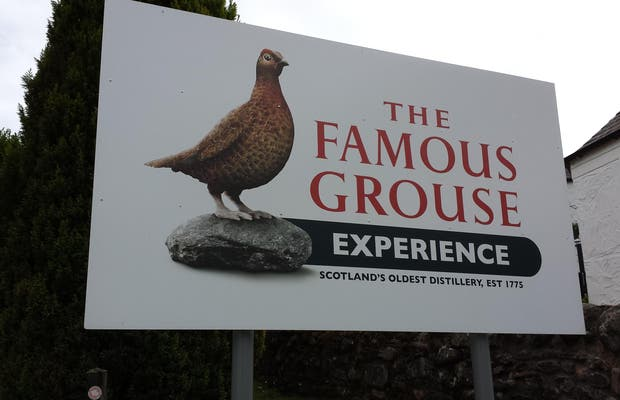 Destileria The Famous Grouse