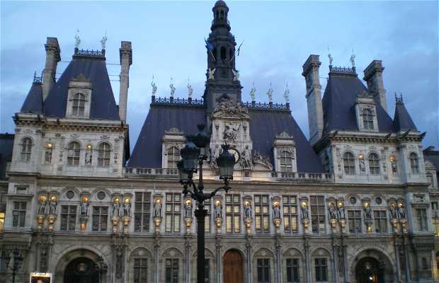 Ayuntamiento de París - Hotel de Ville