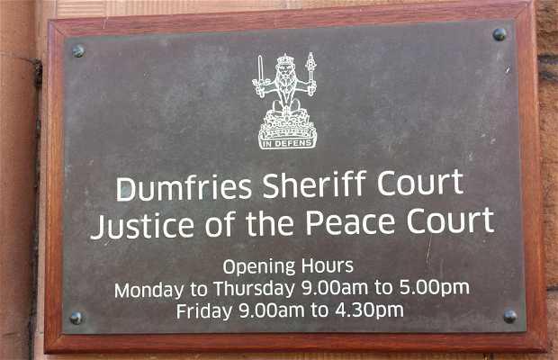 Corte del Sheriff de Dumfries