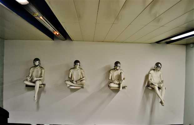 Stazione Quattro Giornate - Metrò dell'Arte