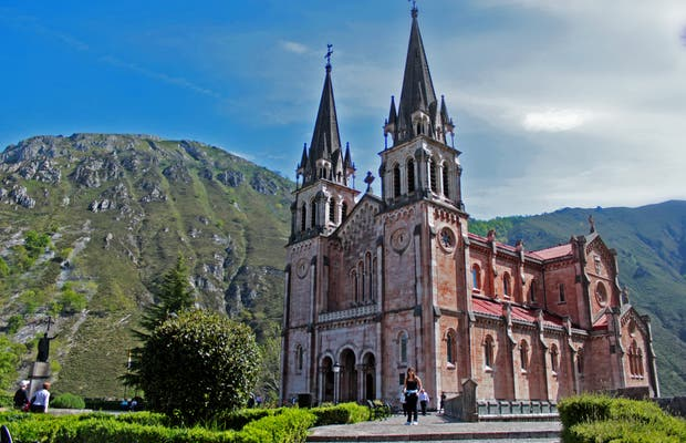 Basílica de Covadonga, Astúrias
