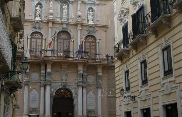 Palazzo Cavarretta a Trapani