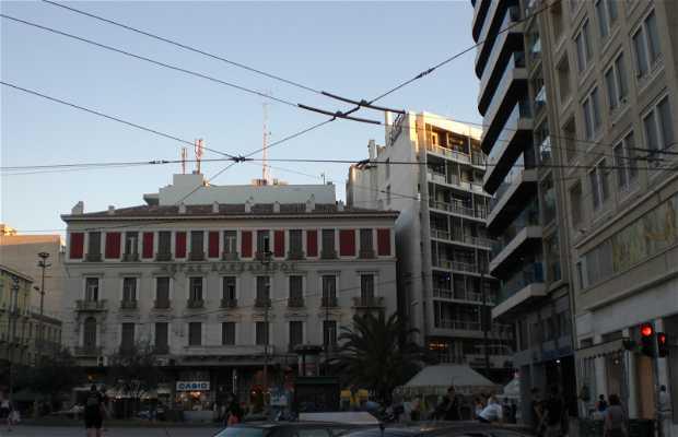 Piazza Omonia ad Atene