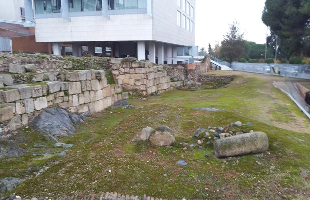 Archaeological remains of Moreria
