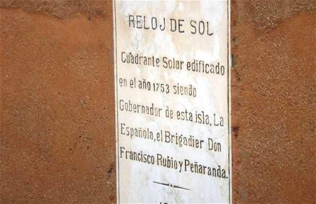 Orologio del Sole a Santo Domingo