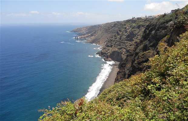 Mirador , Paseo y Playa de La Garañona