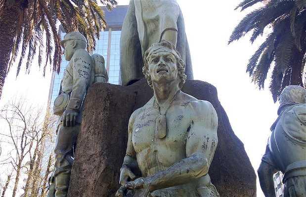 Monumento a La Araucanía