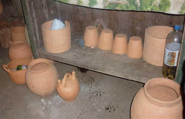 Artesanía de Barro en Guajara-Mirim