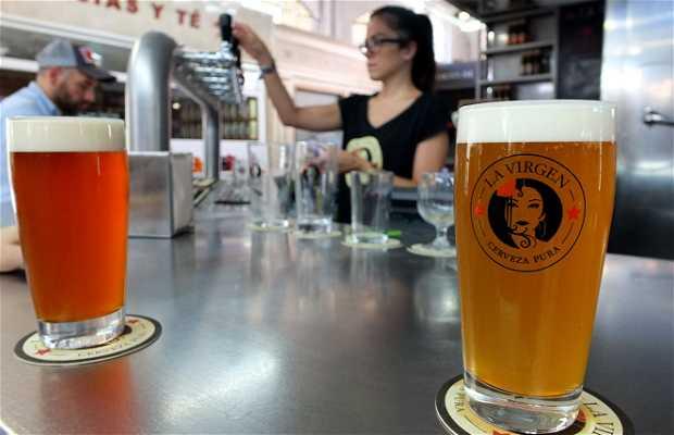 Cervezas La Virgen - Mercado de Vallehermoso