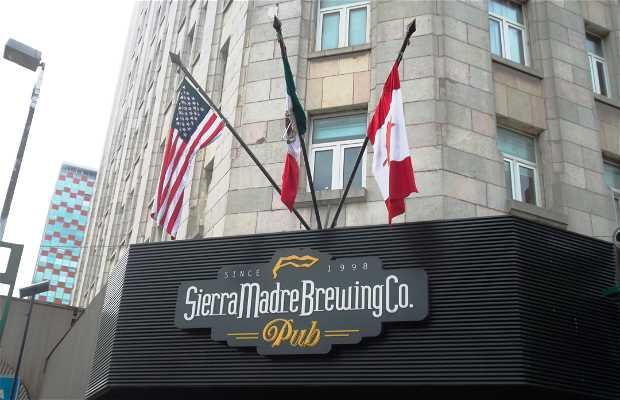 Sierra madre Brewing.co pub