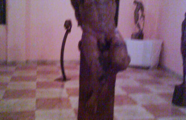 Sculpture exhibition in Benamariel