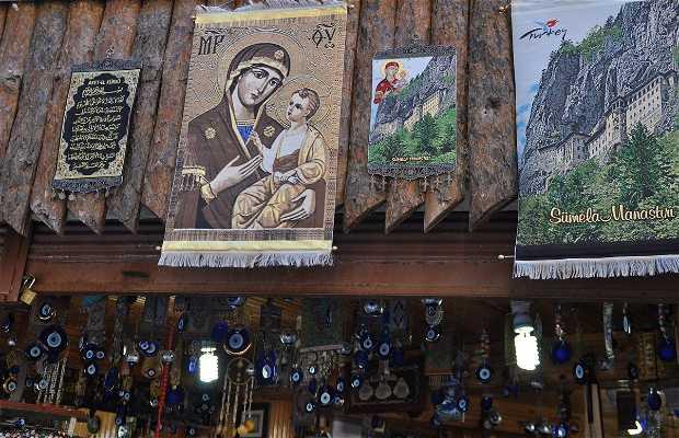 Souvenirs Shop of Sumela