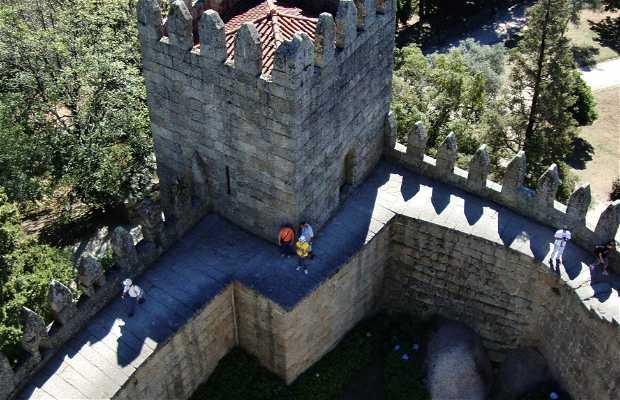 Vista da Torre de Menagem do Castelo de Guimarães