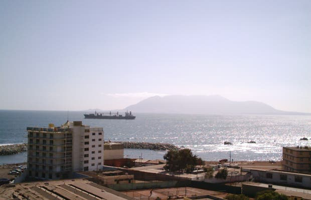 View of Punta De Angamos