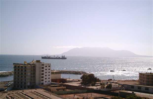 Vista De Punta De Angamos