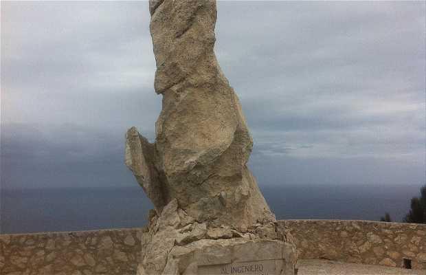 Monument à Antonio Parietti et Coll
