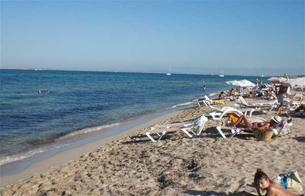 Es Cavallet Beach