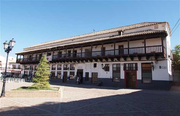 Mayor Square of Consuegra