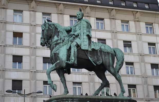 Escultura ecuestre Mihailo Obrenovic