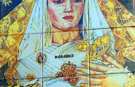 Placeta Virgen de los Dolores