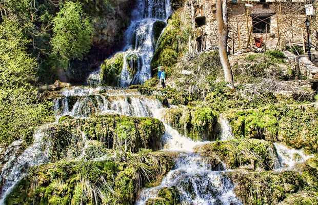 Cascadas en Orbaneja del Castillo
