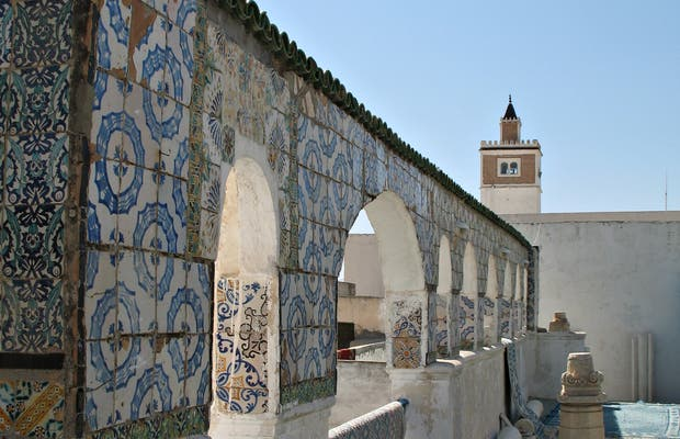 Vistas desde los tejados de La Medina