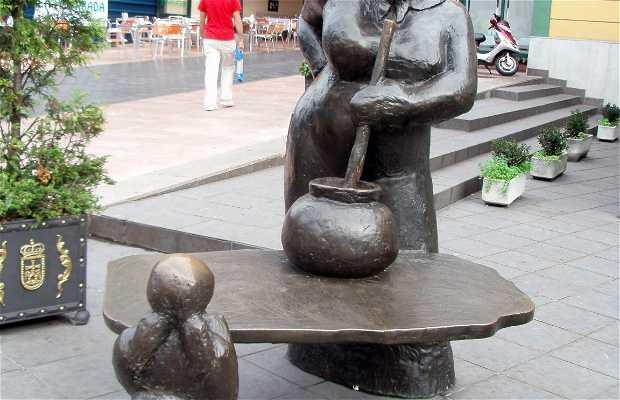Escultura de La Guisandera