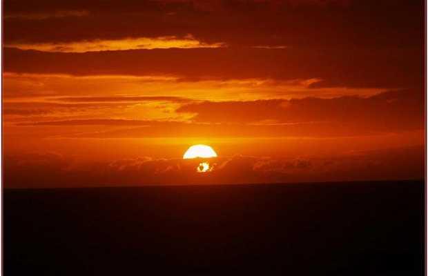 Puesta de sol en A Guarda